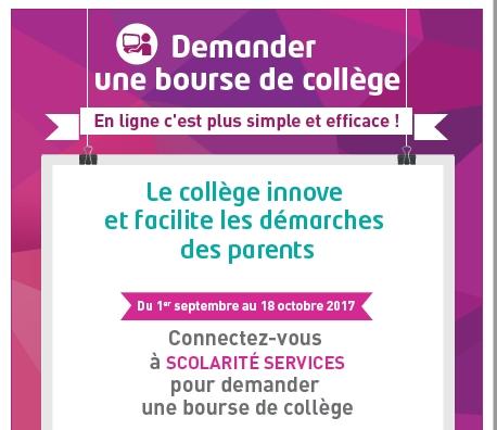 Campagne De Bourses Du College 2017 2018 College Kerzouar